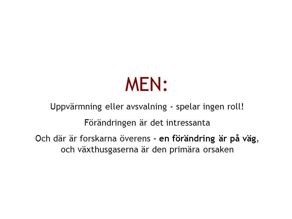 MEN: Uppvärmning eller avsvalning - spelar ingen roll!