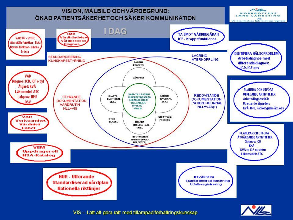 VIS - En praktisk tillämpning av förbättringskunskap