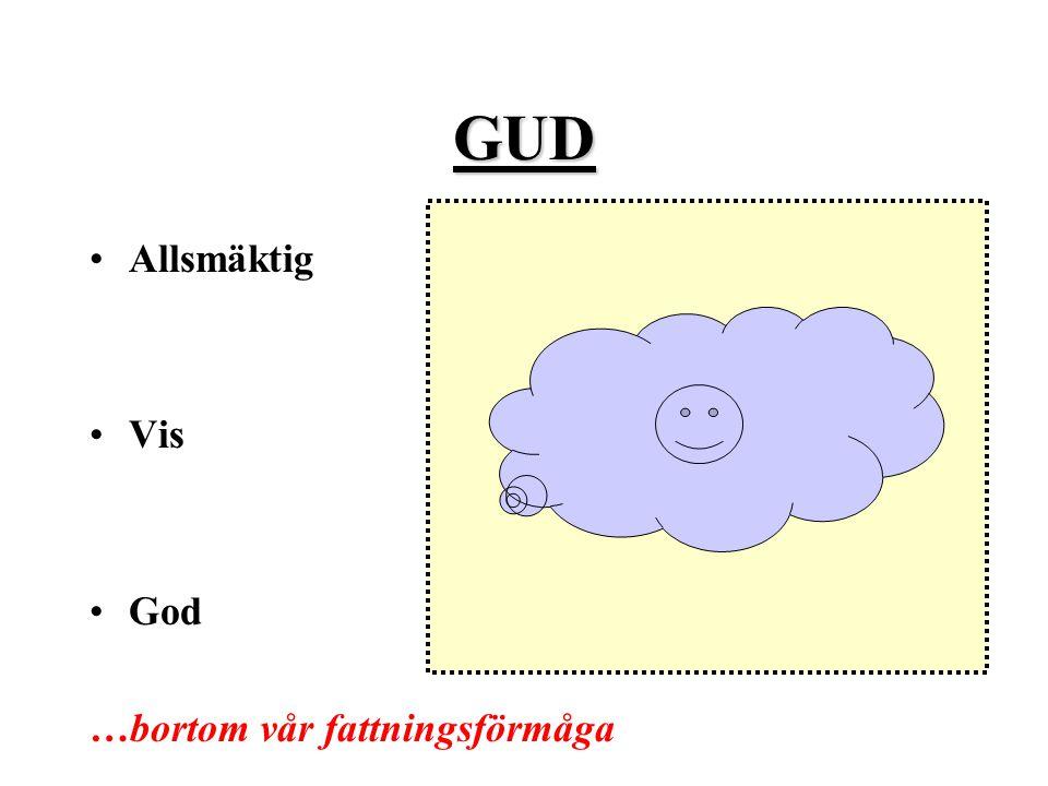 GUD Allsmäktig Vis God …bortom vår fattningsförmåga