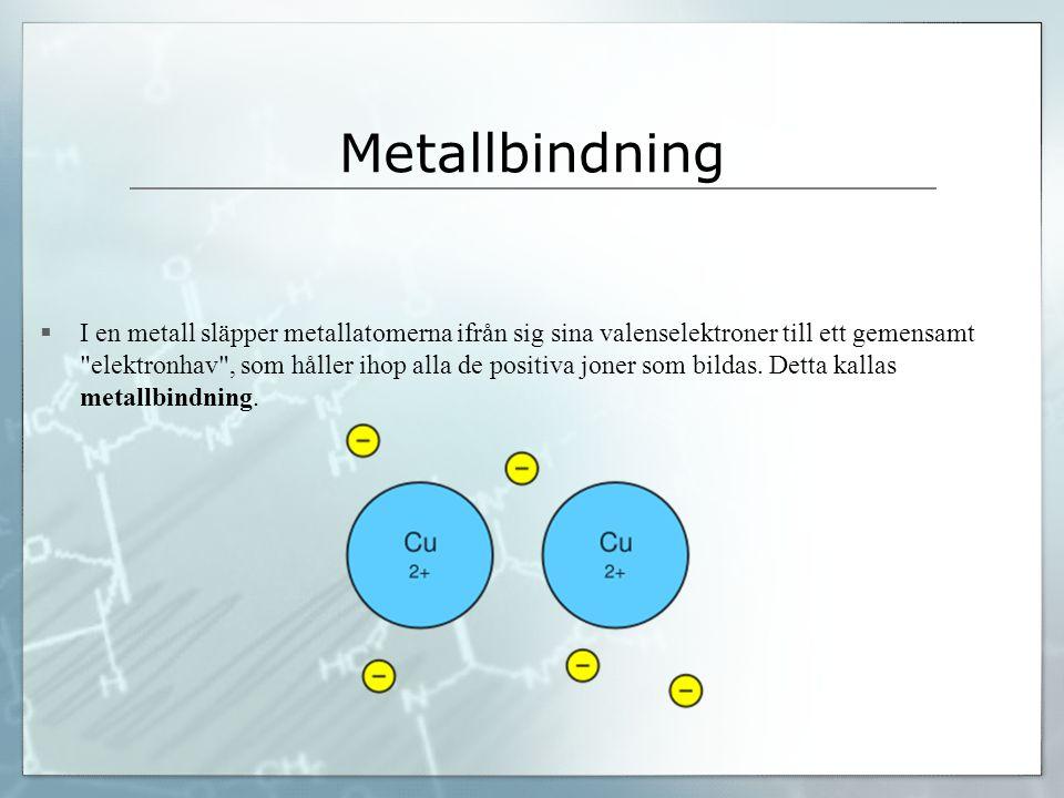 Metallbindning