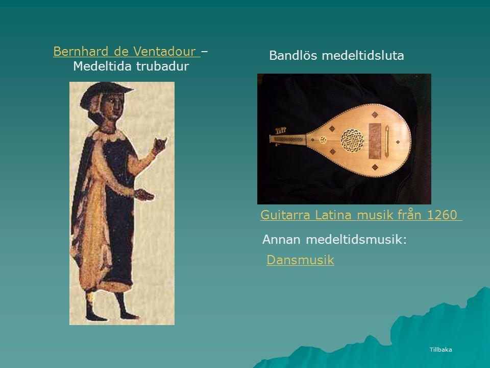 Bernhard de Ventadour – Medeltida trubadur