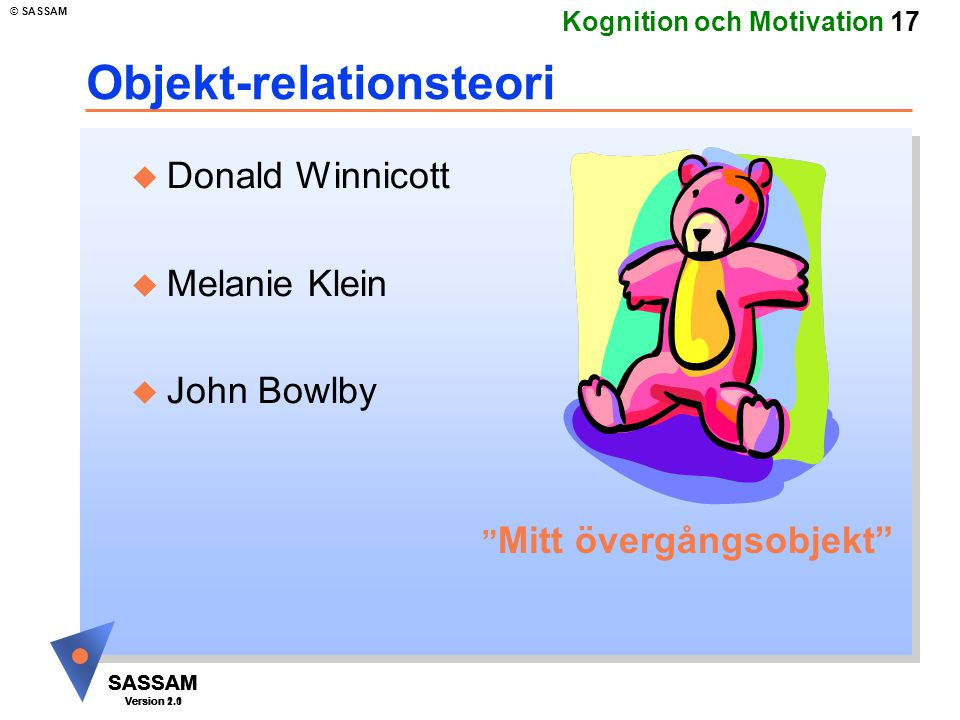 Objekt-relationsteori