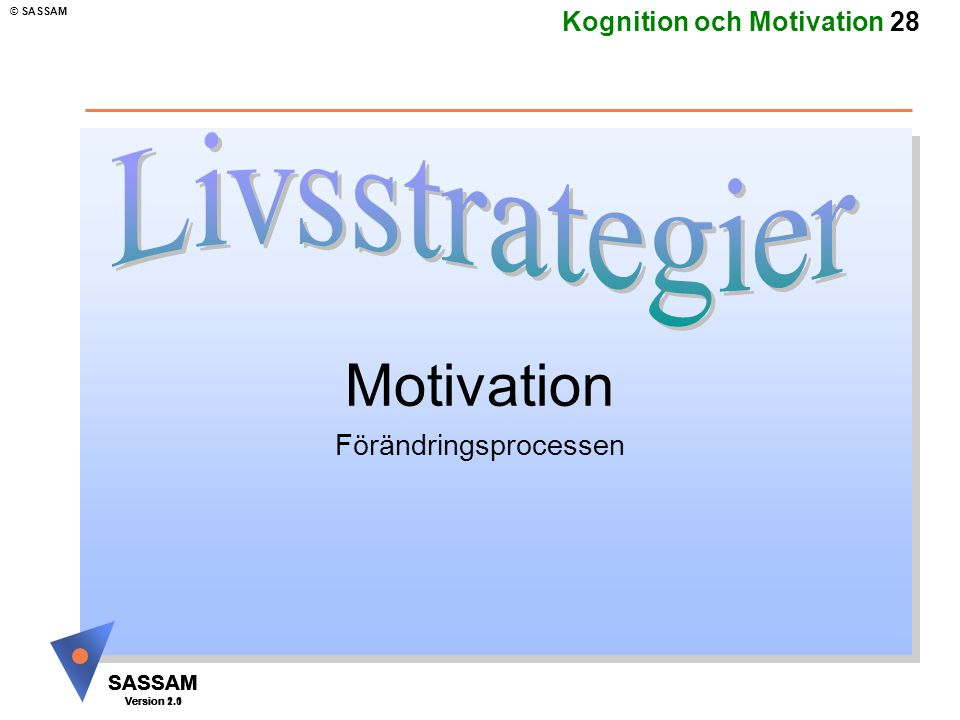 Motivation Förändringsprocessen