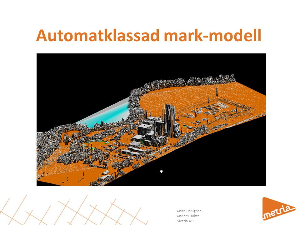 Automatklassad mark-modell