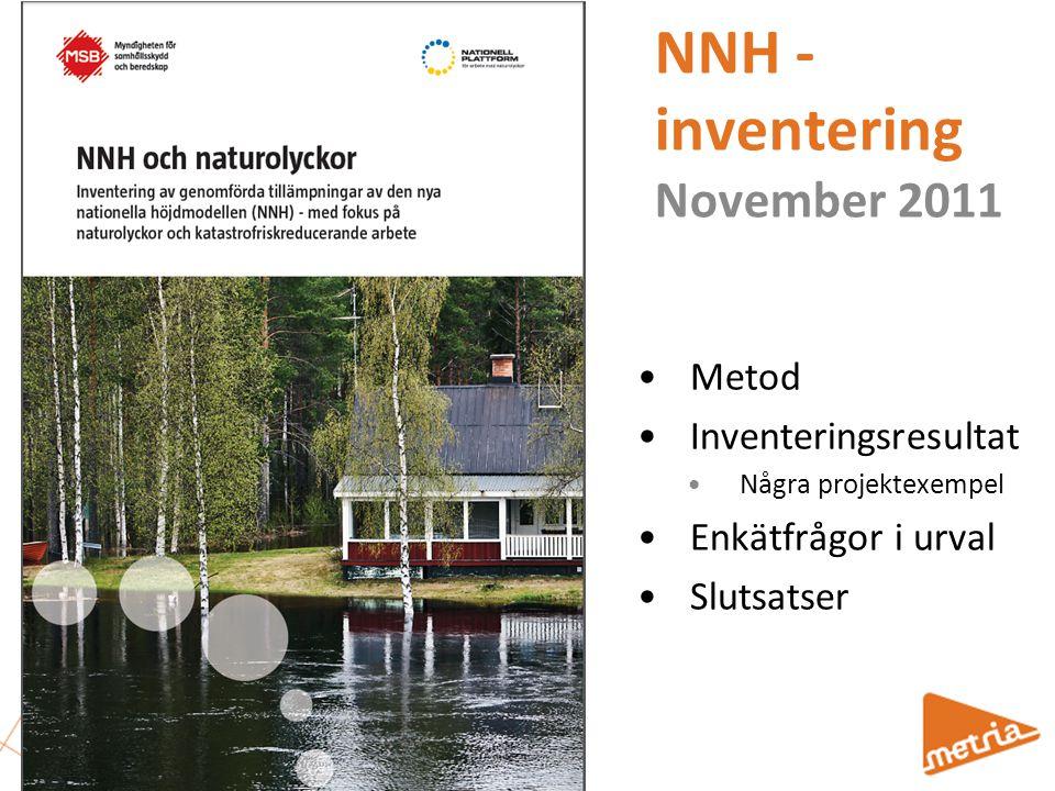 NNH - inventering November 2011