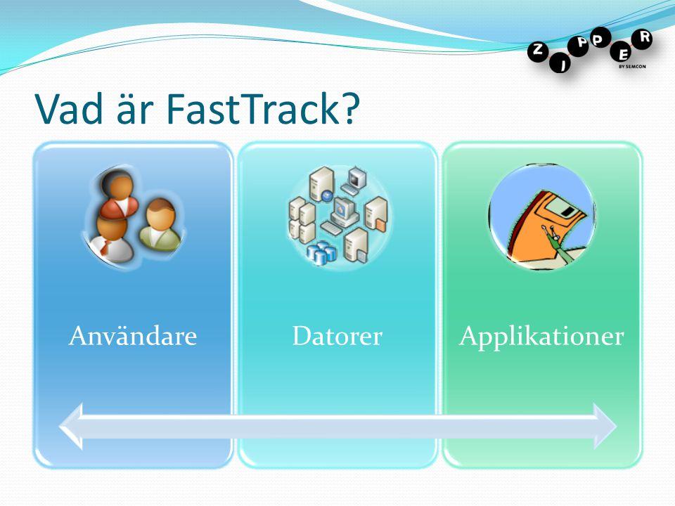 Vad är FastTrack Användare Datorer Applikationer