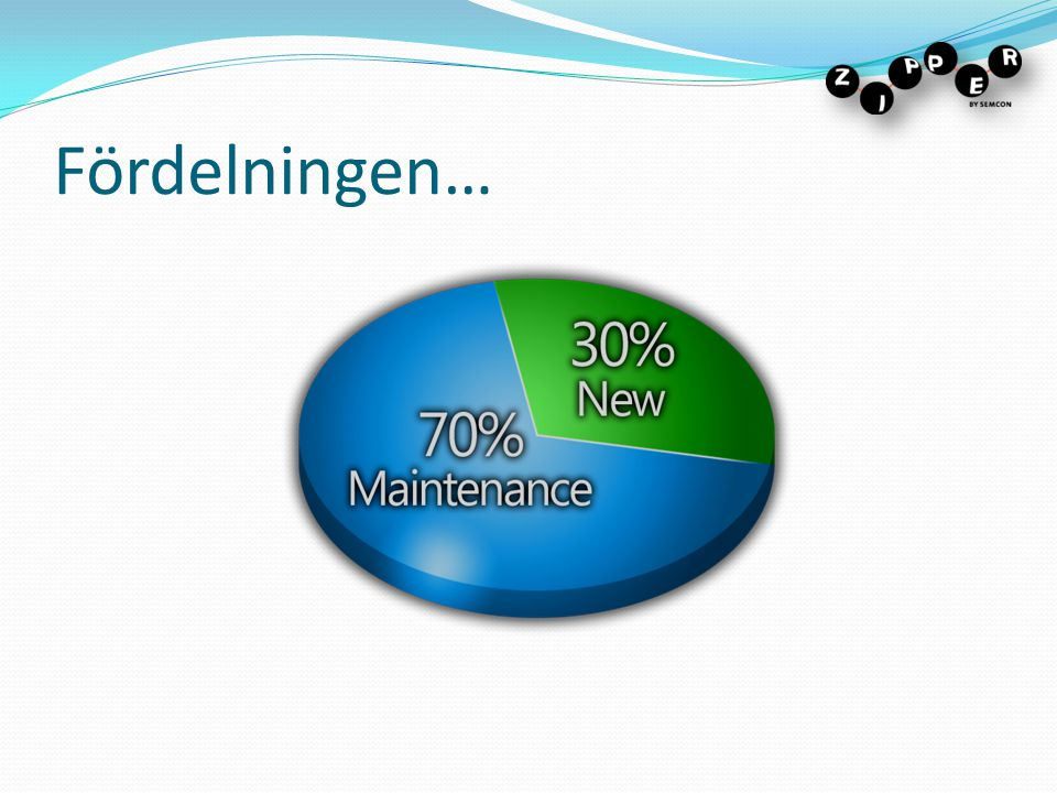 Fördelningen… Key benefits of the model: