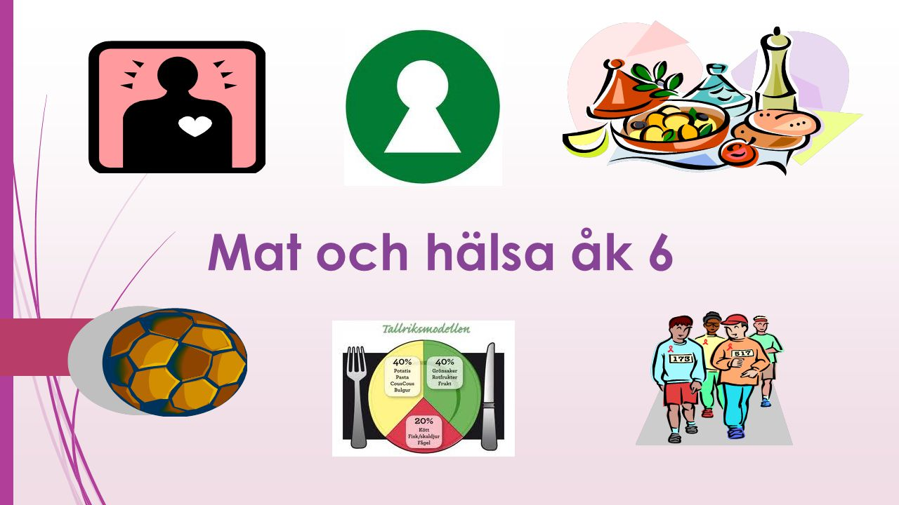 Mat och hälsa åk 6