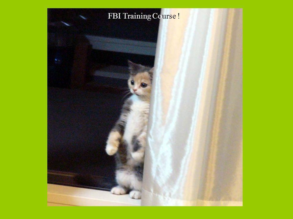 FBI Training Course !