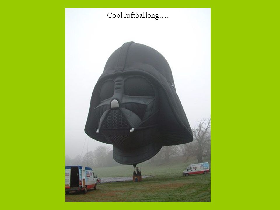 Cool luftballong….