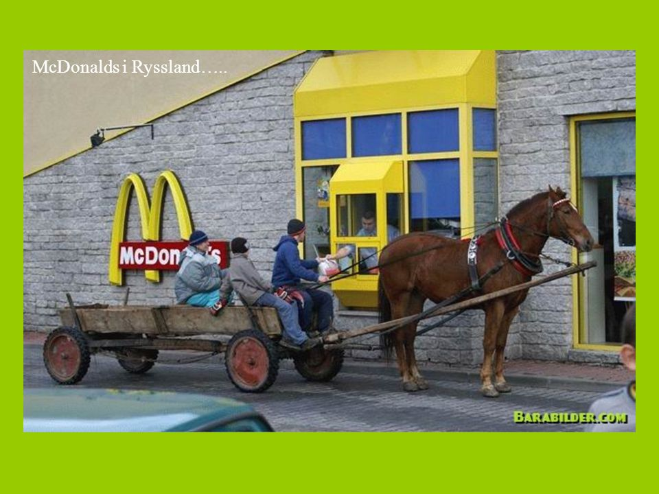 McDonalds i Ryssland…..