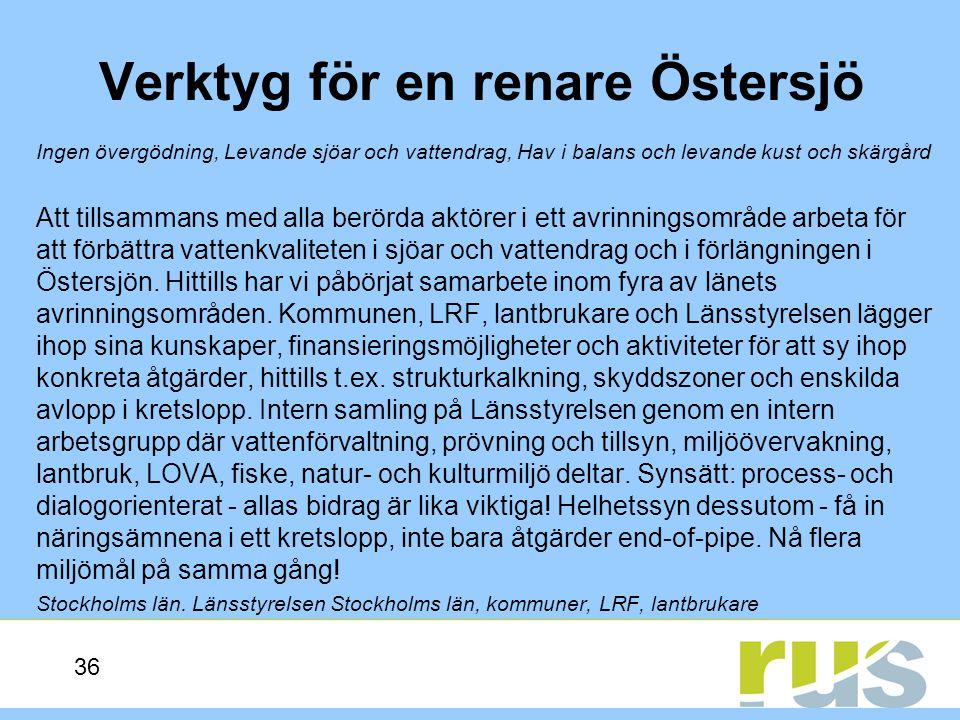 Verktyg för en renare Östersjö