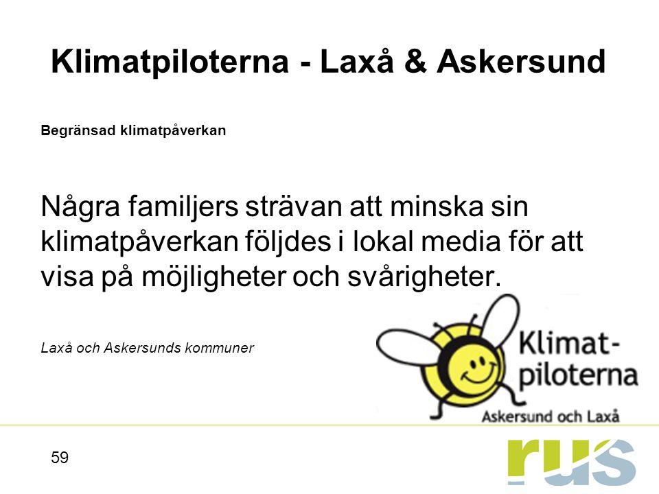 Klimatpiloterna - Laxå & Askersund