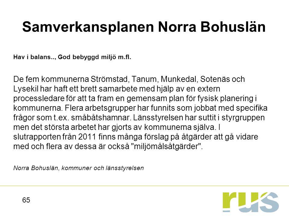 Samverkansplanen Norra Bohuslän