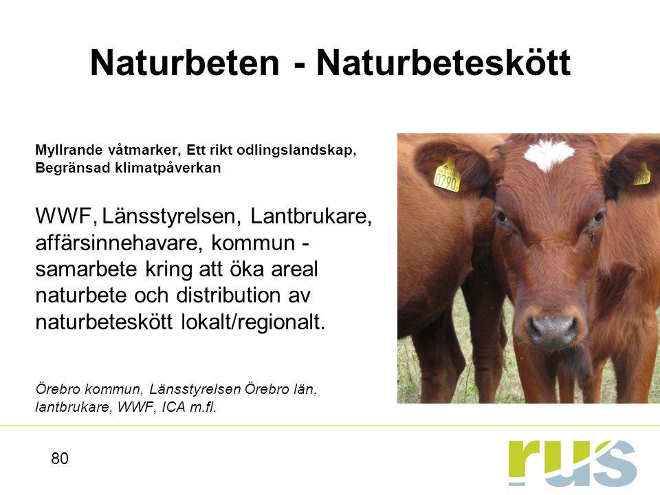 Naturbeten - Naturbeteskött