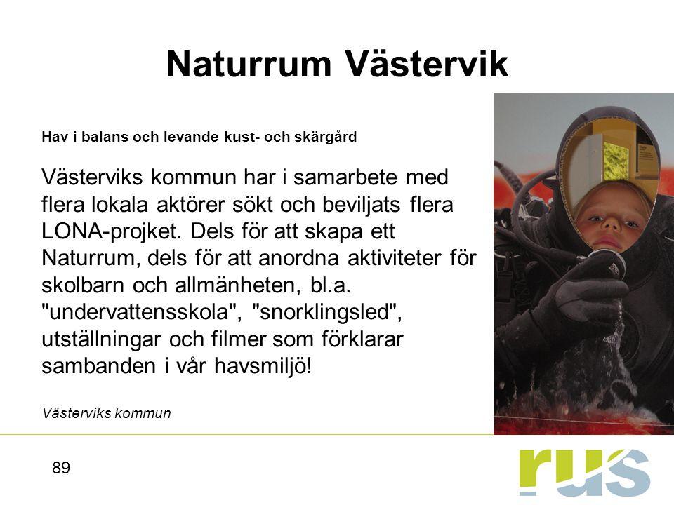 Naturrum Västervik Hav i balans och levande kust- och skärgård.