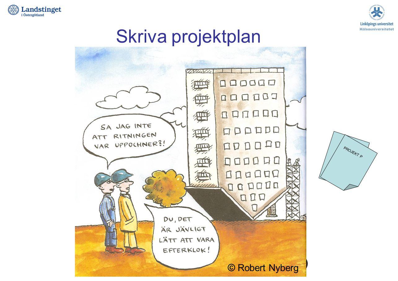 Skriva projektplan Projekttitel Projektdeltagare, roller i projektet