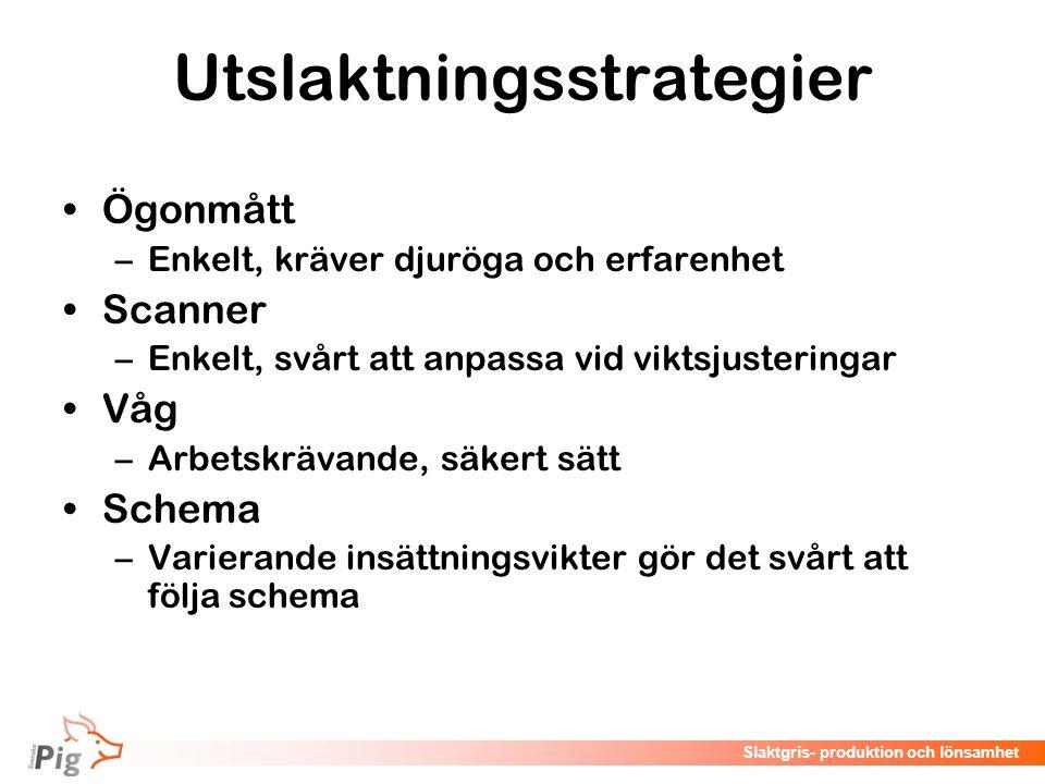 Utslaktningsstrategier