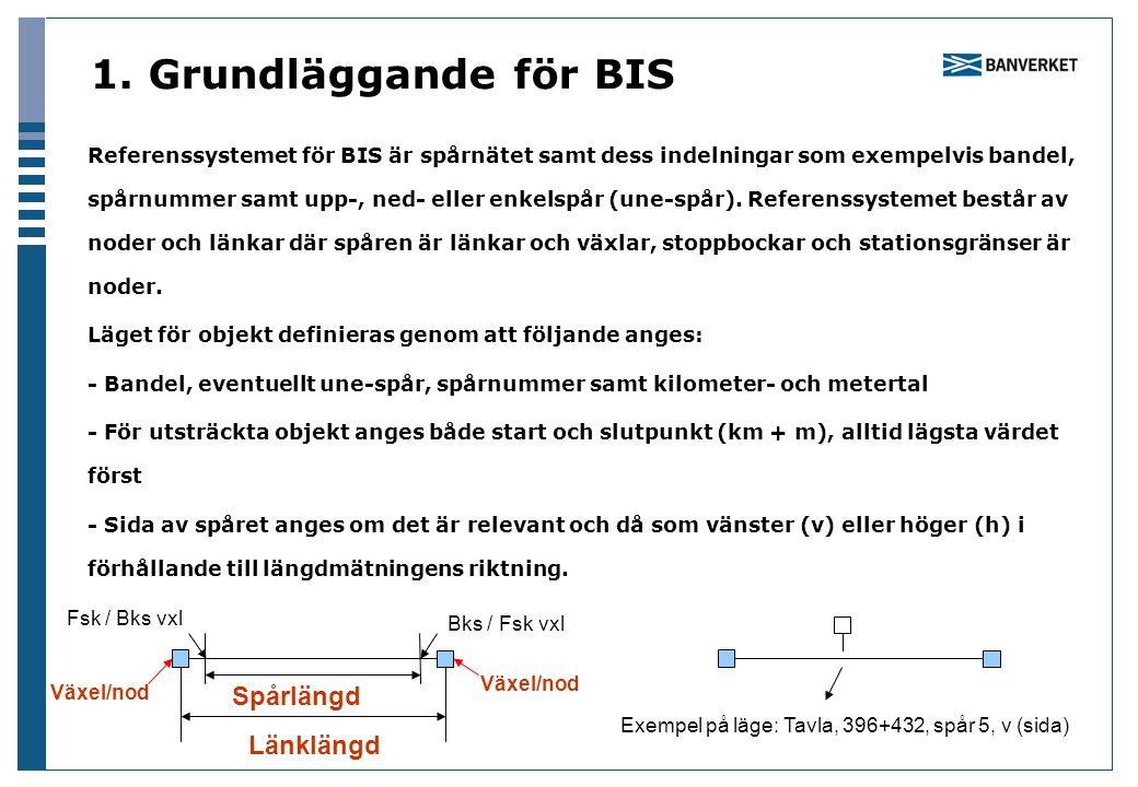 1. Grundläggande för BIS