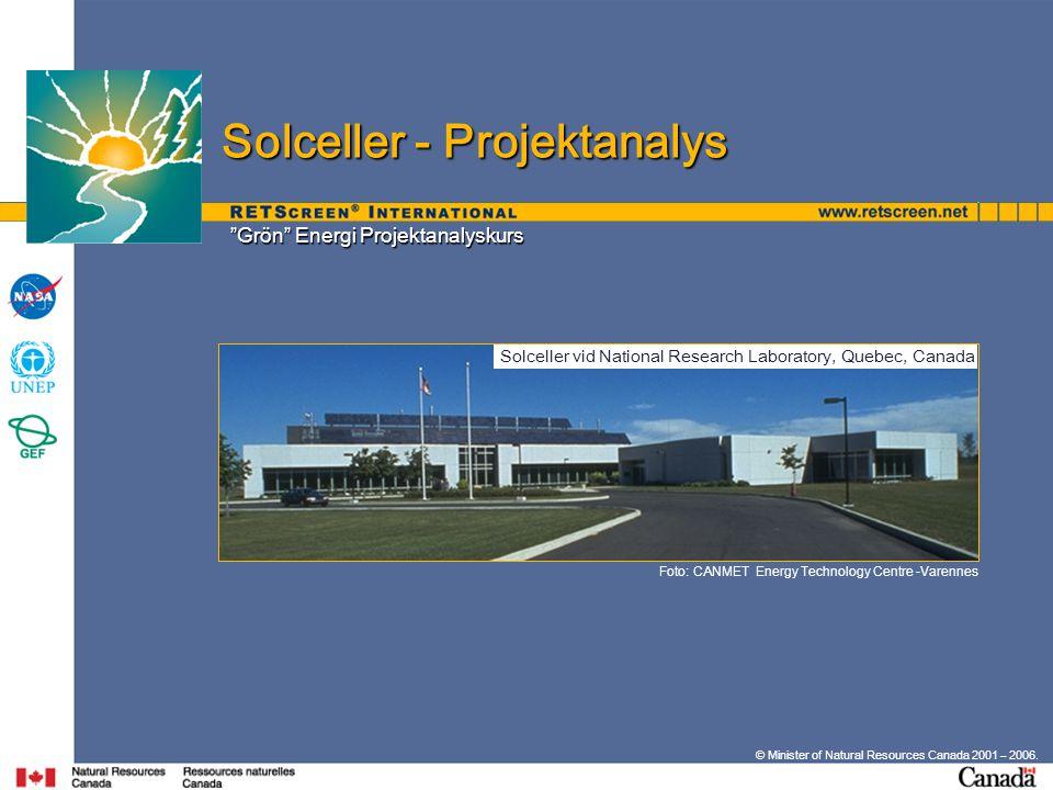 Grön Energi Projektanalyskurs