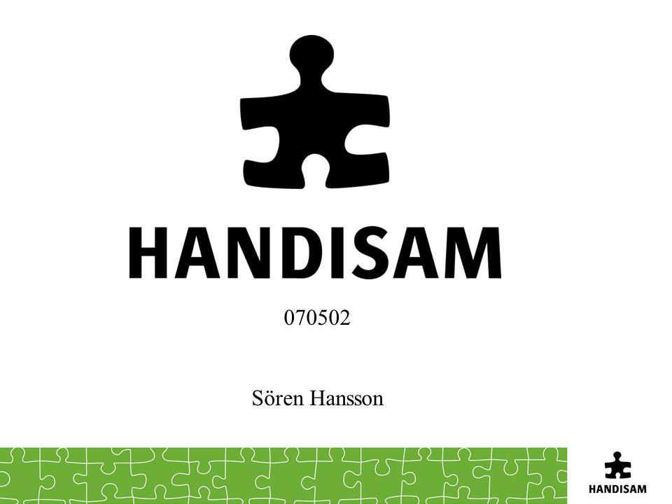 070502 Sören Hansson Kort om mig själv