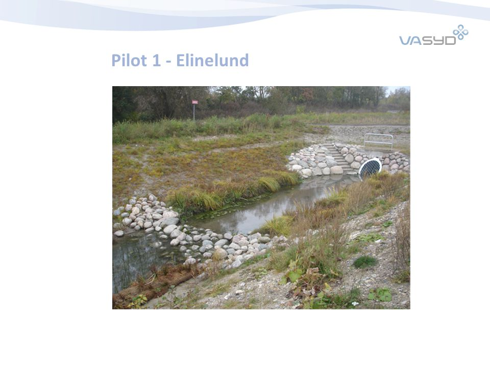 2017-04-07 Pilot 1 - Elinelund Utlopp med stendämme 10 m ut