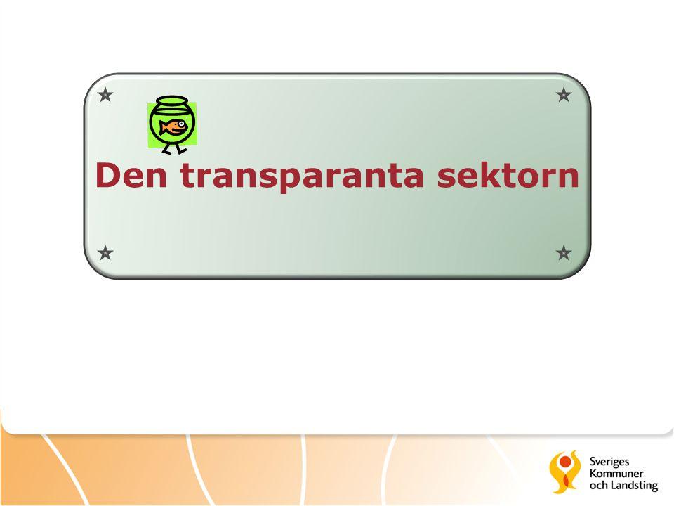 Den transparanta sektorn