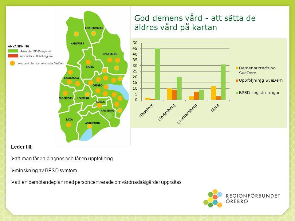 God demens vård - att sätta de äldres vård på kartan