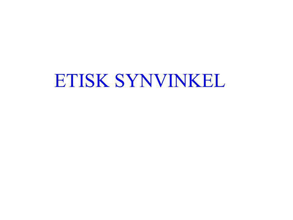 ETISK SYNVINKEL