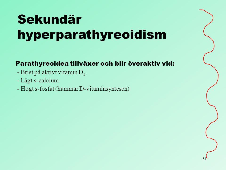 hyperparathyreoidism