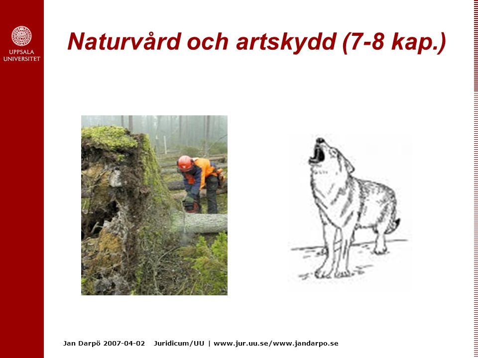 Naturvård och artskydd (7-8 kap.)