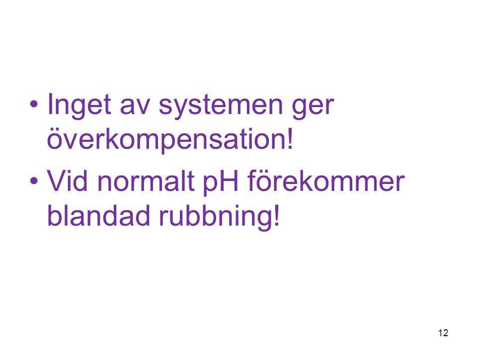 Inget av systemen ger överkompensation!