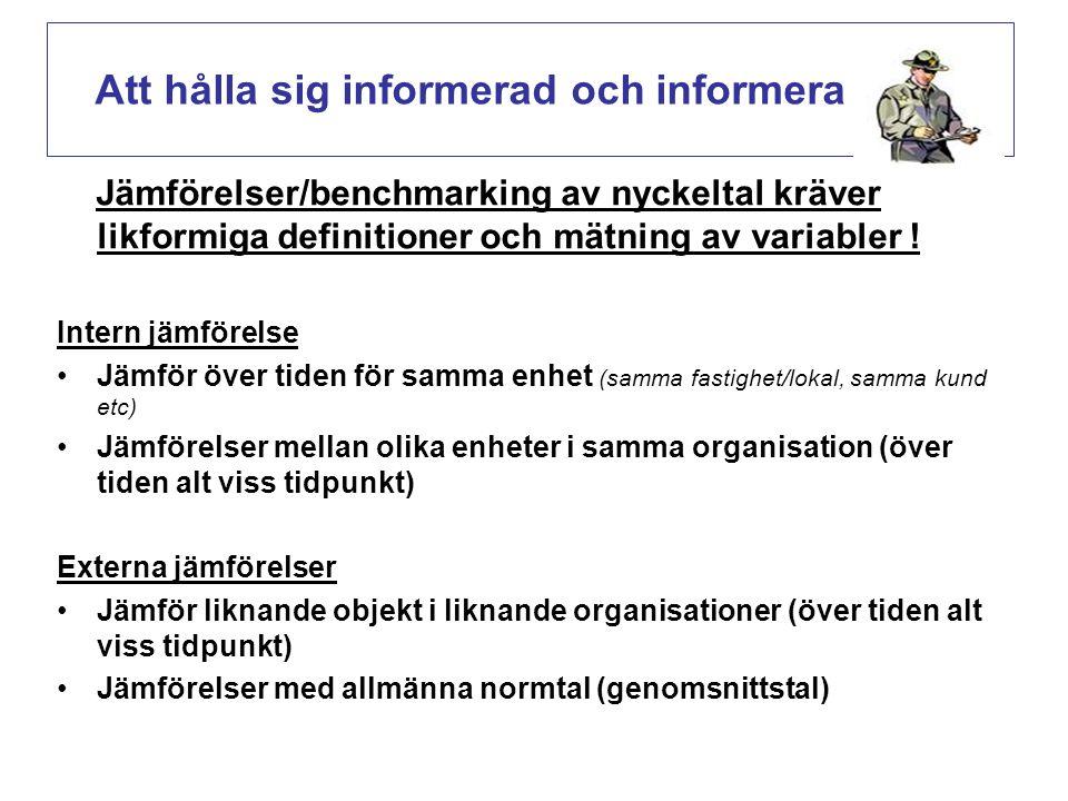 Att hålla sig informerad och informera (s.42-43)