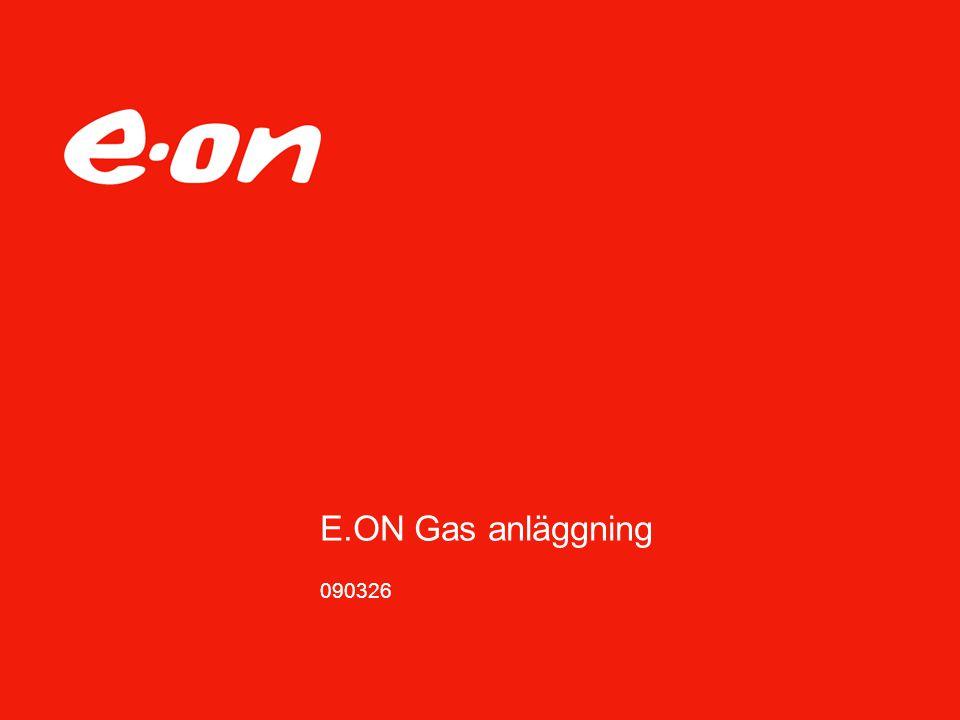 E.ON Gas anläggning 090326