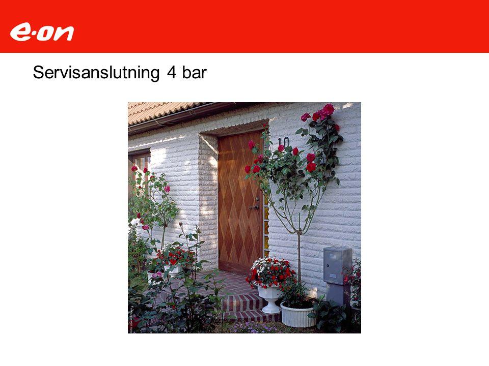 Servisanslutning 4 bar