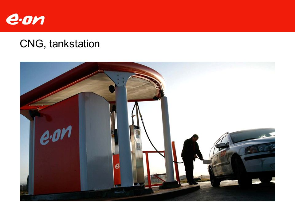 CNG, tankstation