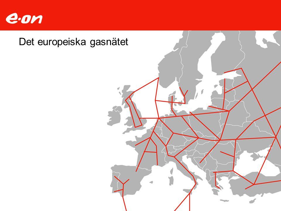 Det europeiska gasnätet