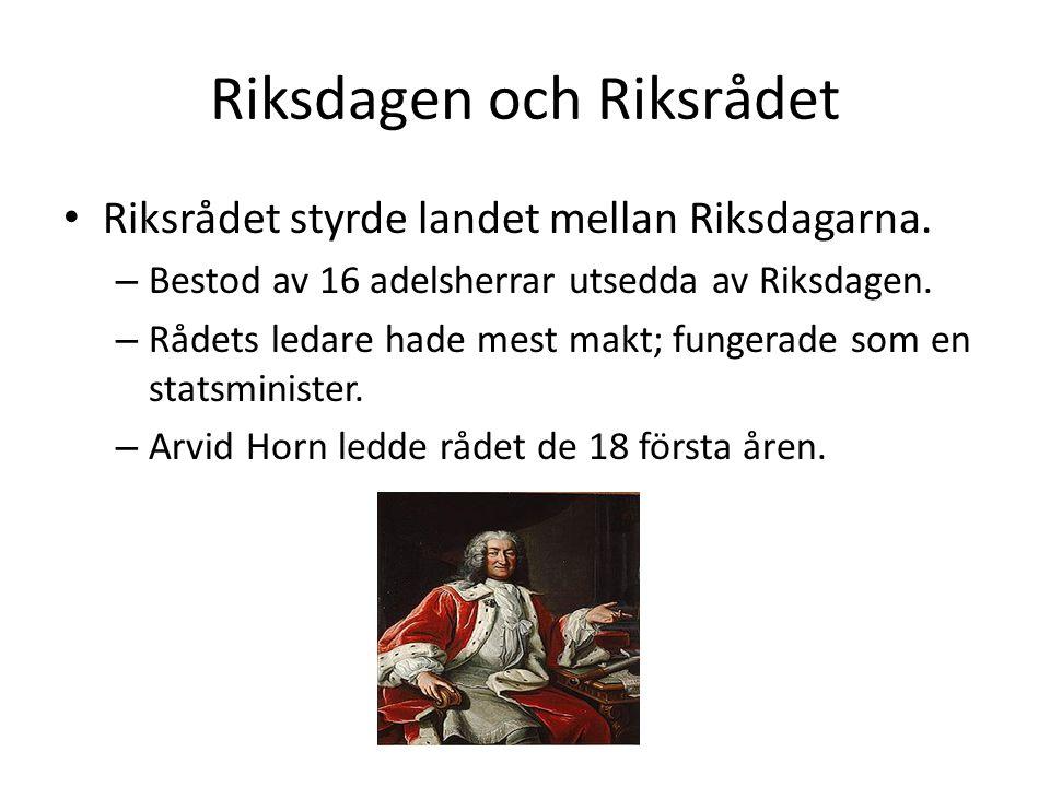 Riksdagen och Riksrådet