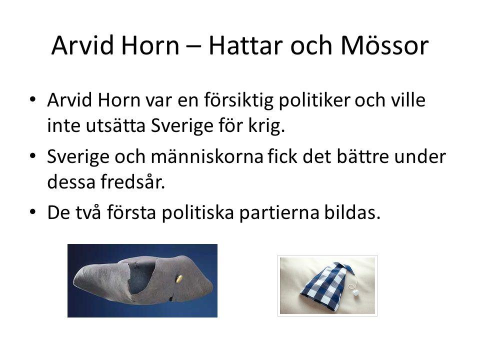 Arvid Horn – Hattar och Mössor