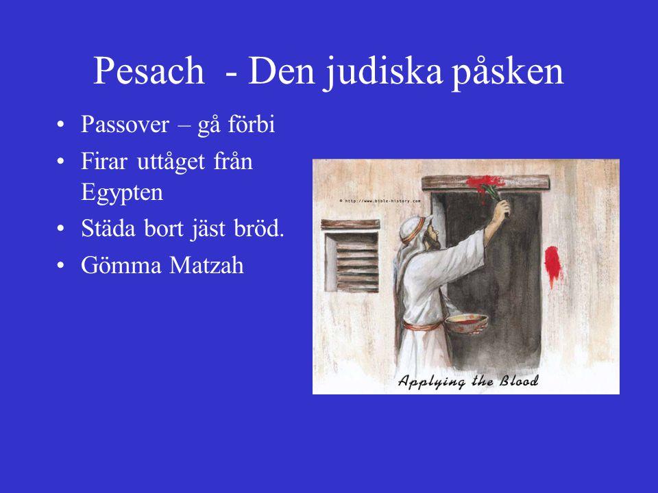 Pesach - Den judiska påsken