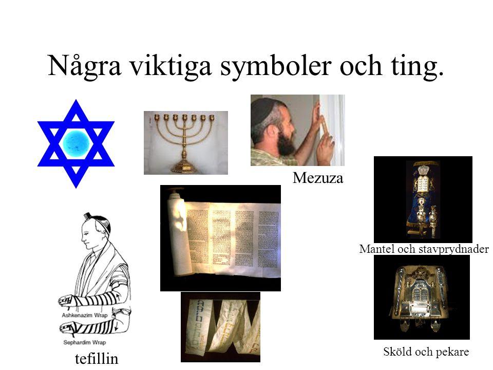 Några viktiga symboler och ting.