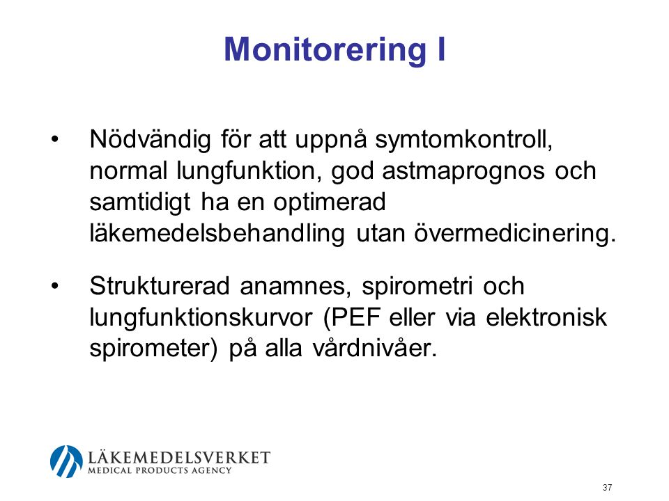 Monitorering I