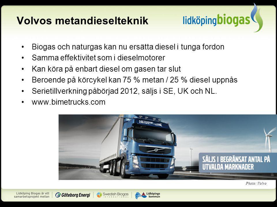 Volvos metandieselteknik