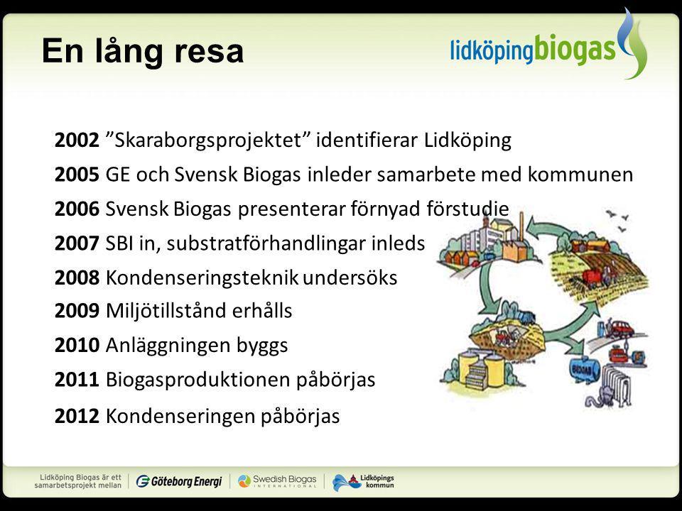 En lång resa 2002 Skaraborgsprojektet identifierar Lidköping