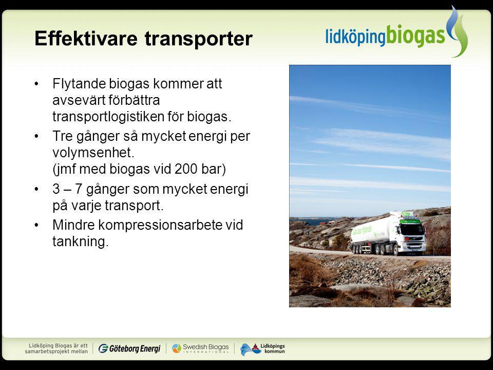 Effektivare transporter