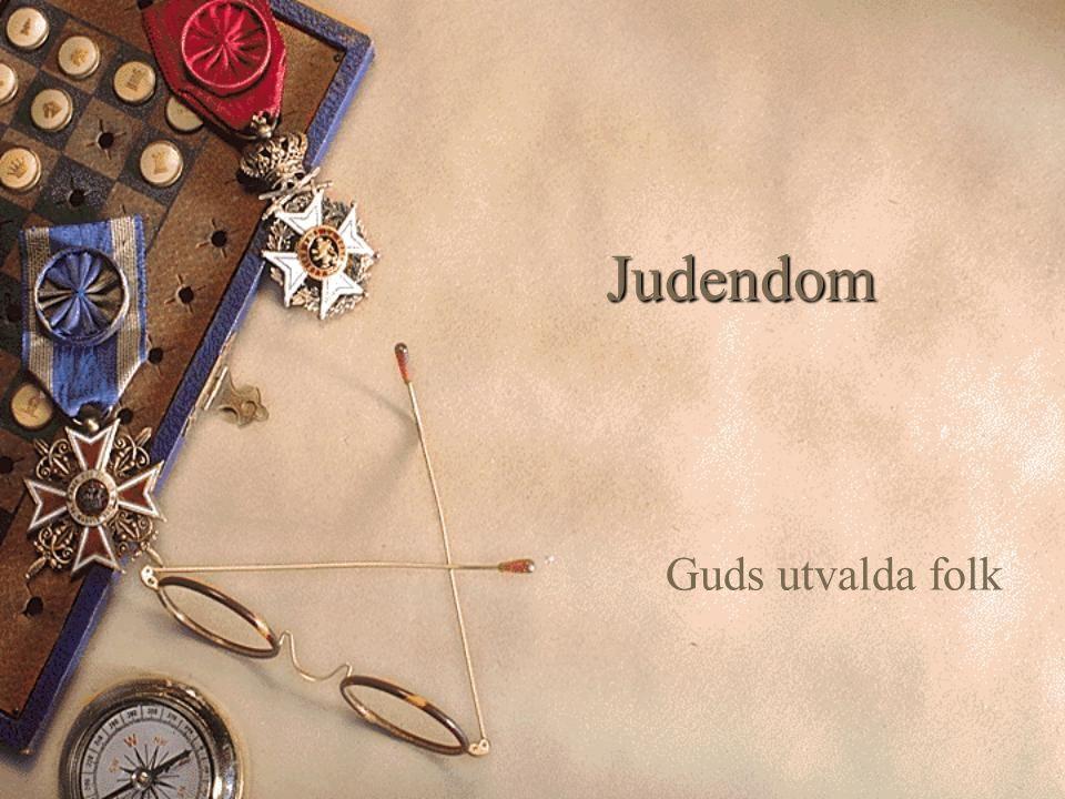 Judendom Guds utvalda folk