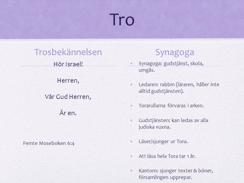 Tro Trosbekännelsen Synagoga Hör Israel! Herren, Vår Gud Herren,