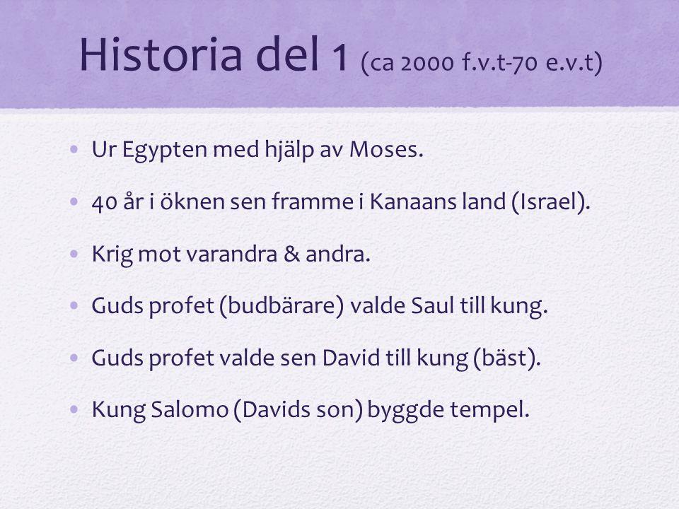 Historia del 1 (ca 2000 f.v.t-70 e.v.t)
