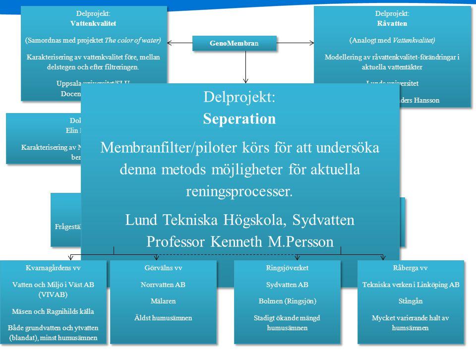 Lund Tekniska Högskola, Sydvatten Professor Kenneth M.Persson