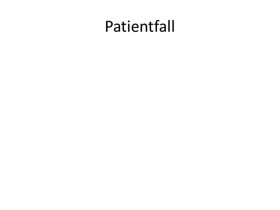 Patientfall